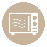 Microwave Amenity Icon